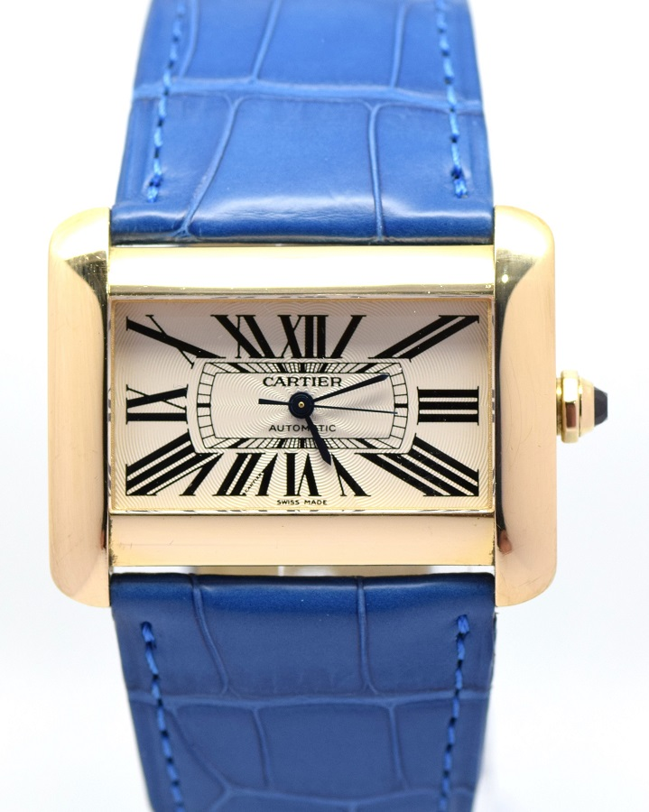 Cartier tank divan xl automatic 2603 watches of sutton for Cartier divan xl