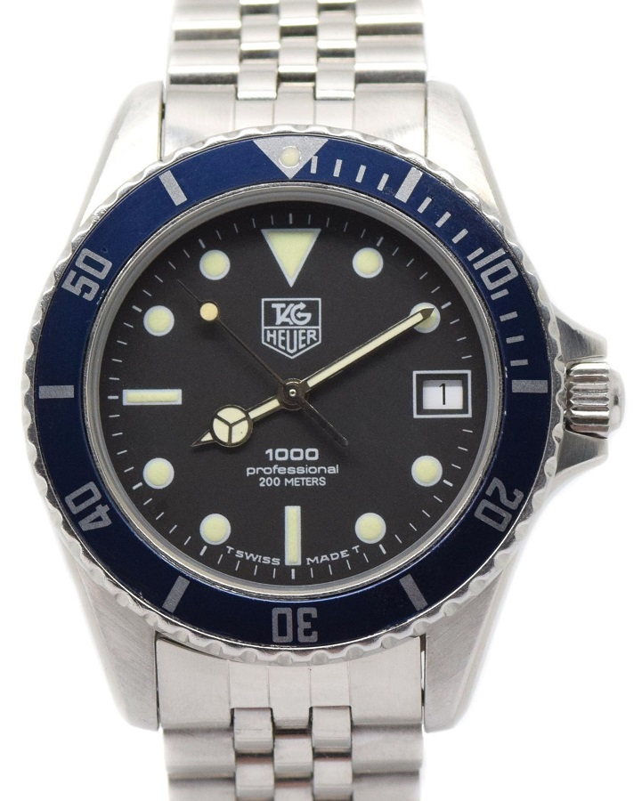 factory authentic 1df50 430e7 TAG Heuer 1000 Series 980.013N